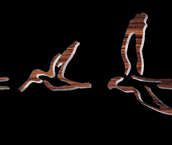 PRS birds DXF fretboard inlays