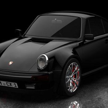 Porsche rendering